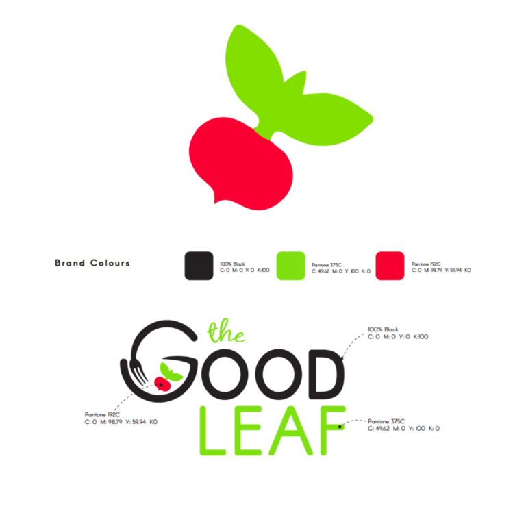 Brand Identity, The Good Leaf | NIMBL Marketing
